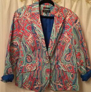 Jones New York 18W Womens Blazer From Macy's